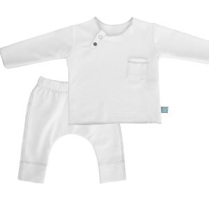 twin set bianco bamboom babywear